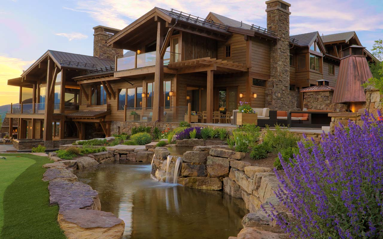 Custom home builder aspen custom builder steamboat for What is a luxury home